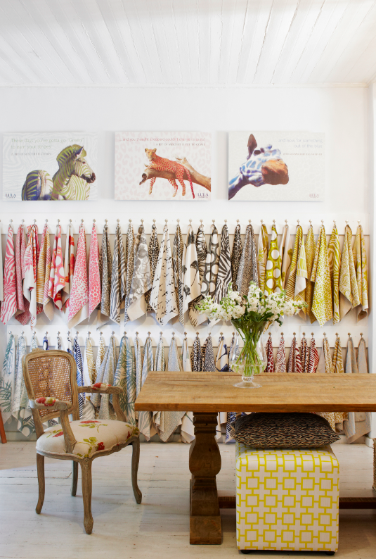 Lula Fabrics Cape Town Showroom