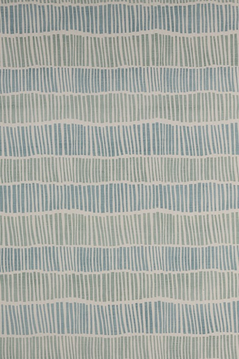 Broken Stripe in Aqua & Seafoam 1