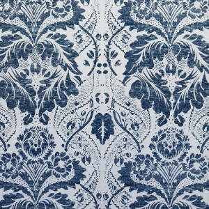 Damask in Navy