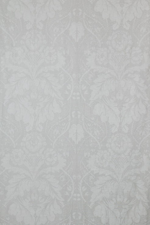 Damask in White on White 1