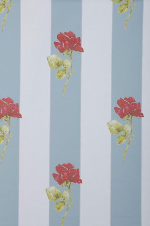Grace Kelly Stripe in Aqua 1