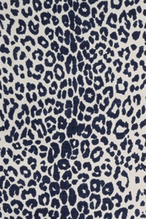 Leopard in Indigo 1