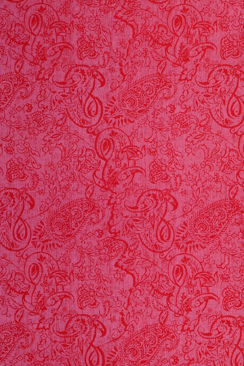 Paisley in Red 1