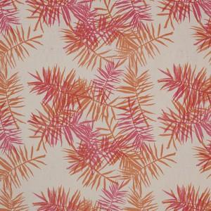 Palmfrond in Pink & Orange