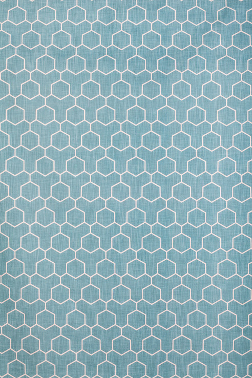 Honeycomb in Turquoise 1
