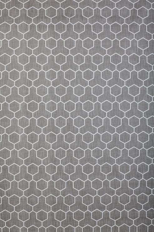 Honeycomb in Medium Grey 1