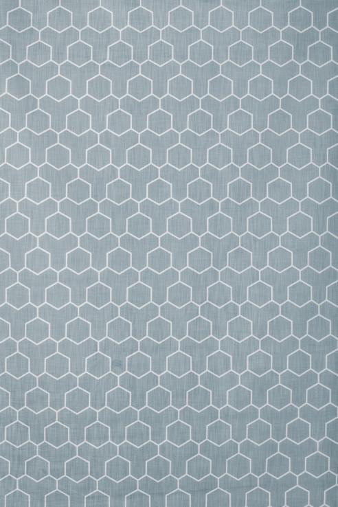 Honeycomb in Aqua 1