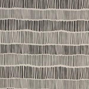 Broken Stripe in Charcoal & Grey