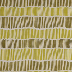 Broken Stripe in Chartreuse & Lemon