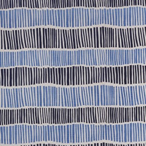 Broken Stripe in Indigo & Periwinkle