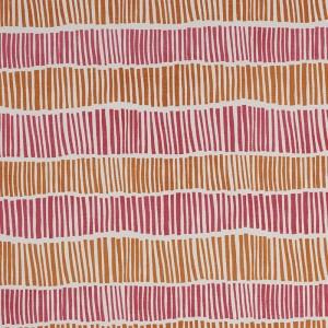 Broken Stripe in Pink & Orange