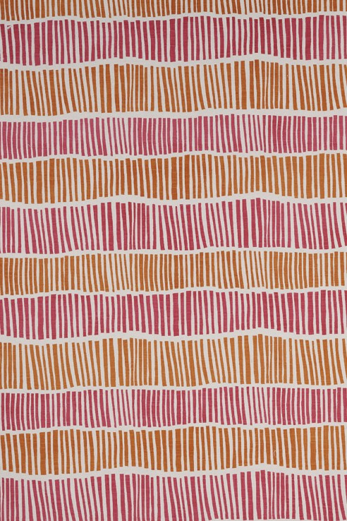 Broken Stripe in Pink & Orange 1