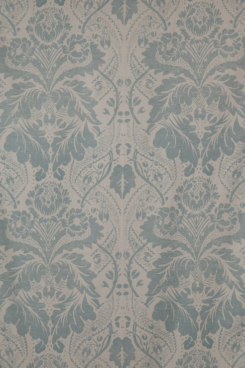 Damask in Duck Egg 1