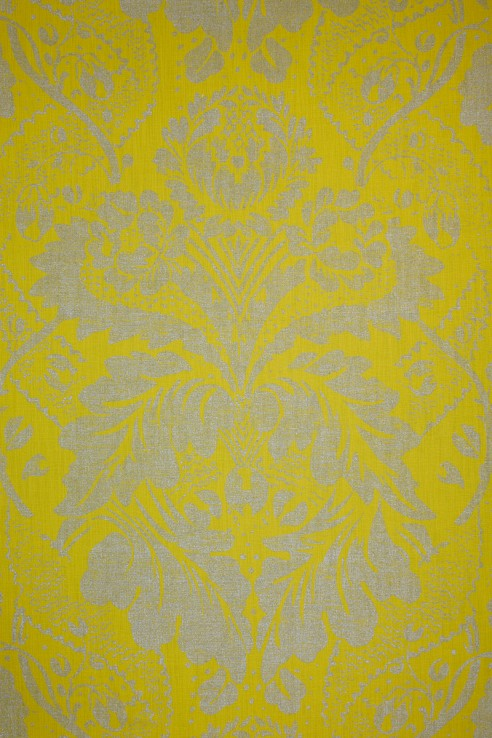 Damask in Lime 1