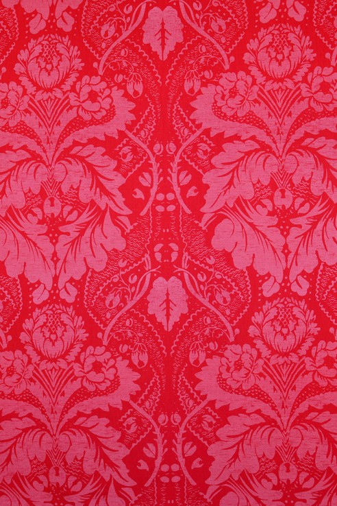 Damask in Red 1