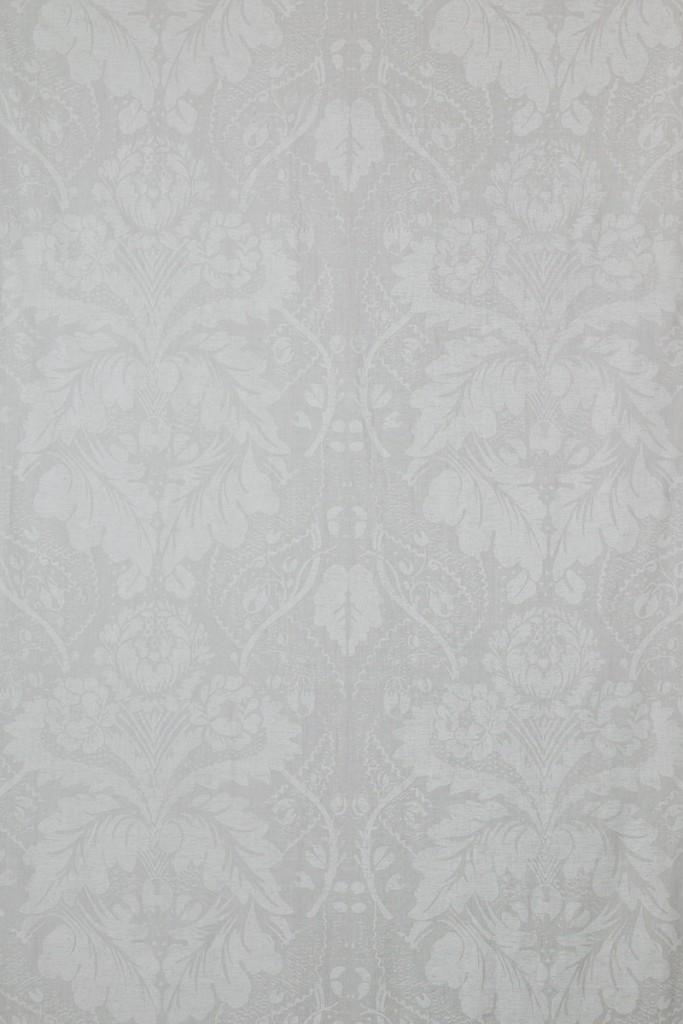 Damask in White on White