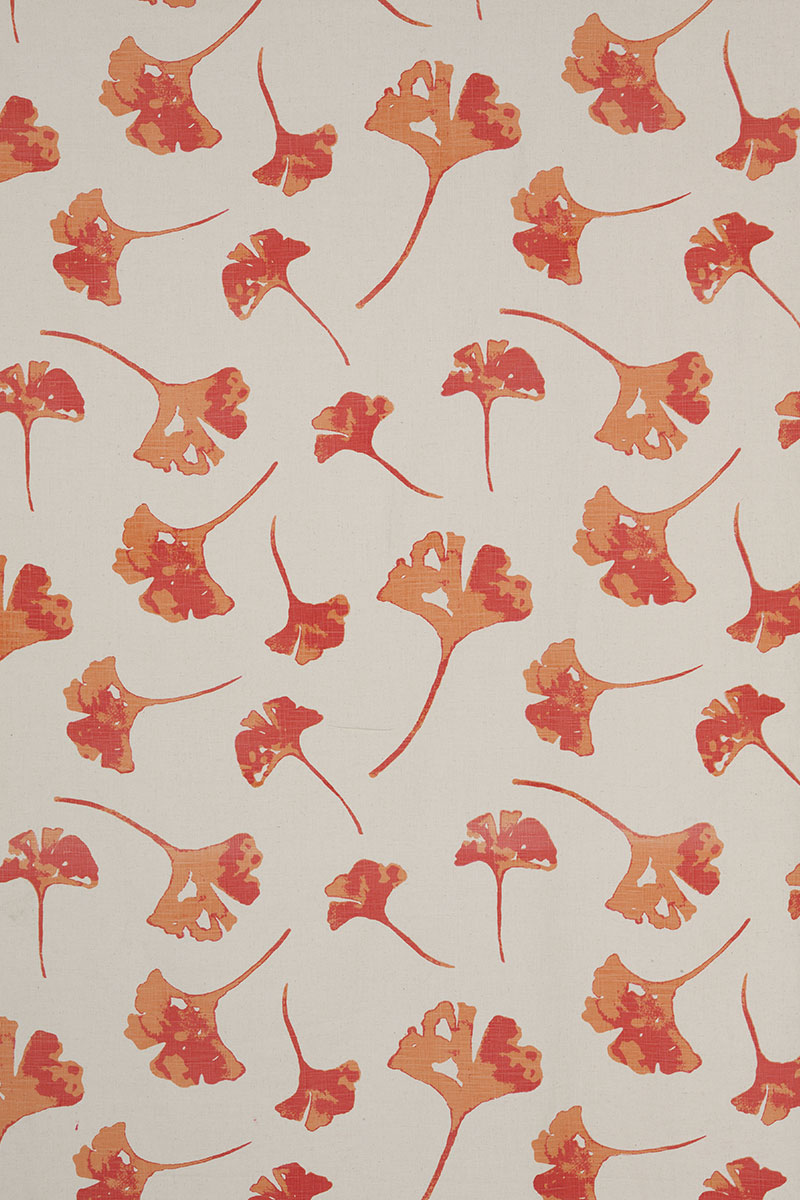 Ginkoleaf in Pink & Orange