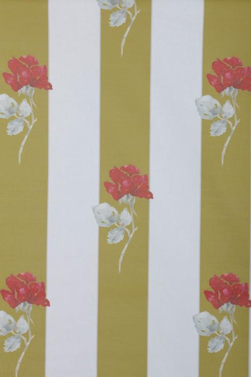 Grace Kelly Stripe in Chartreuse 1