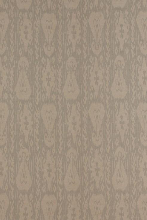 Kashgar in Grey on Linen 1