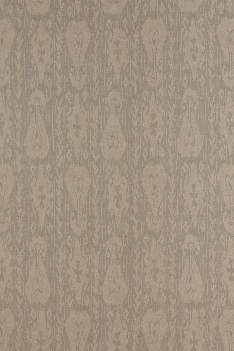 Kashgar in Grey on Linen