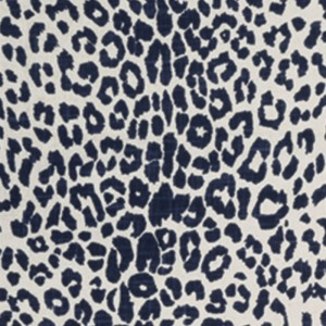 Leopard in Indigo