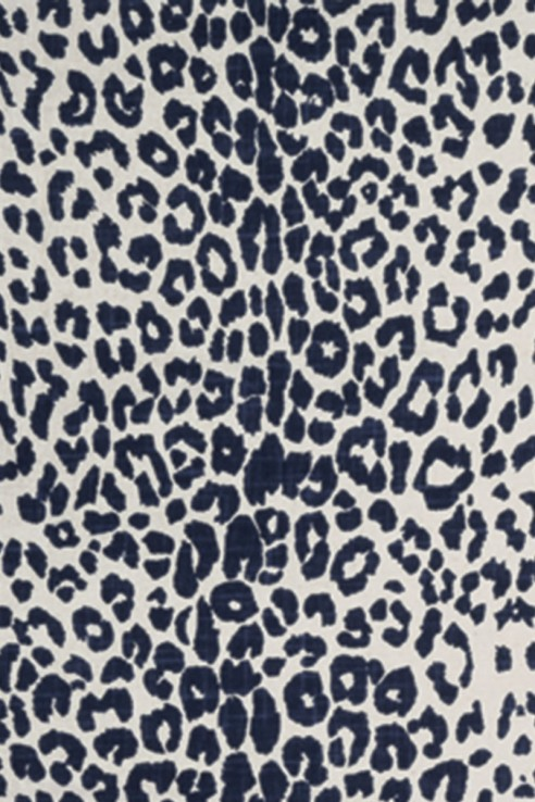 Leopard in Indigo 1