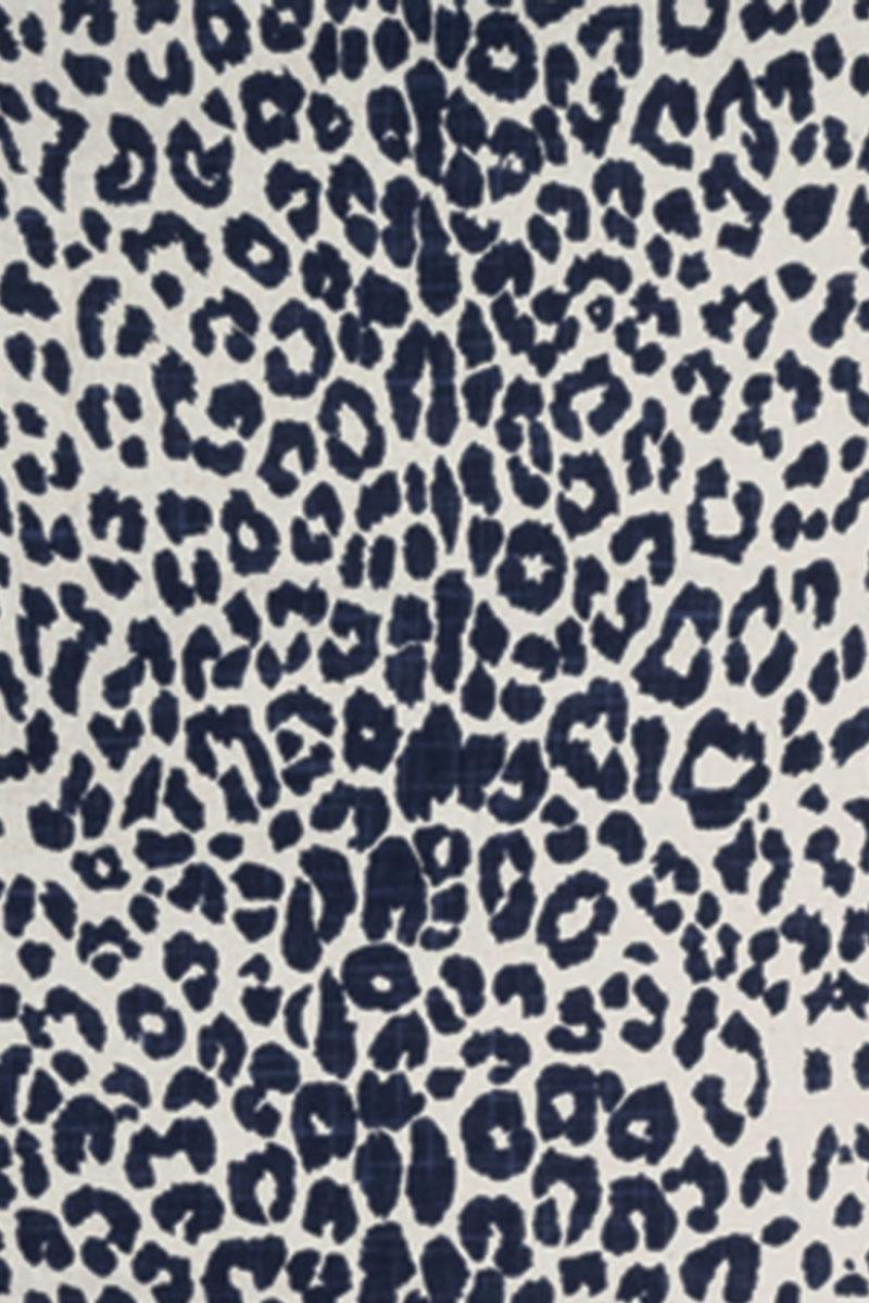 Leopard in Indigo