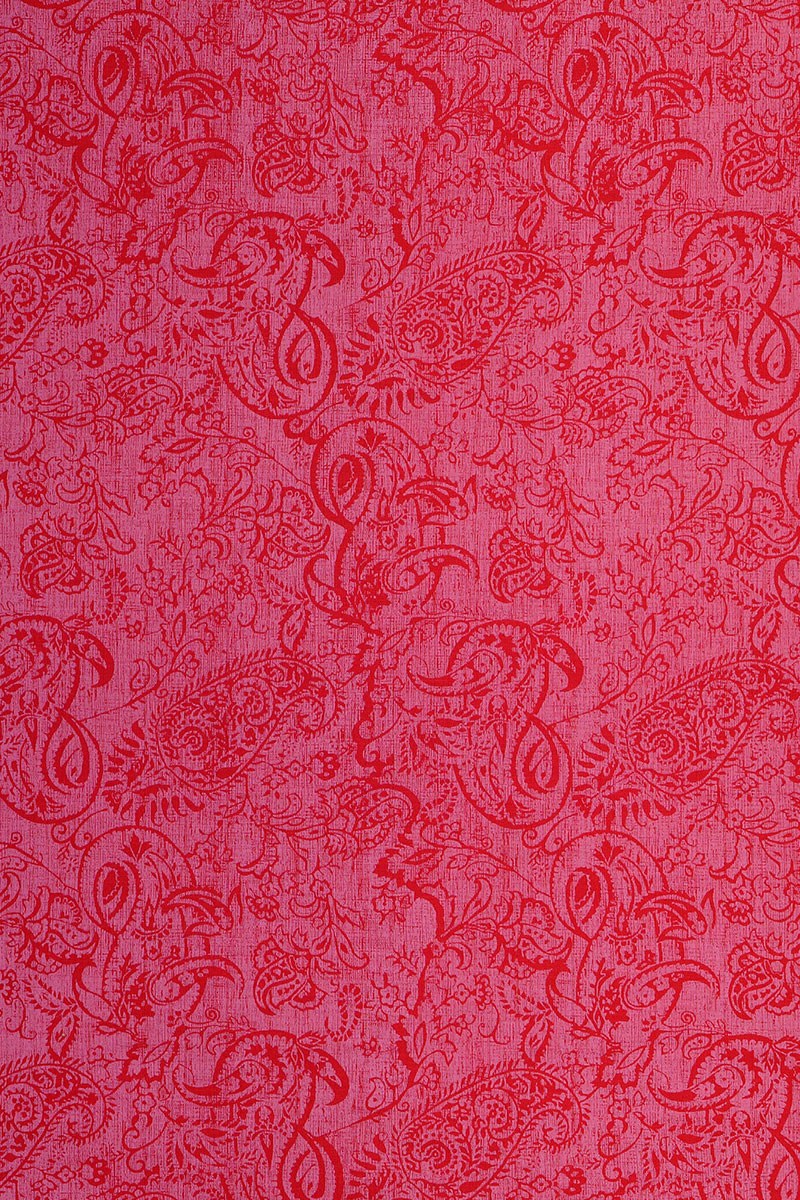 Paisley in Red