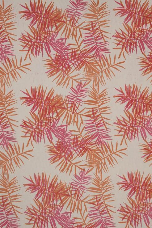 Palmfrond in Pink & Orange 1