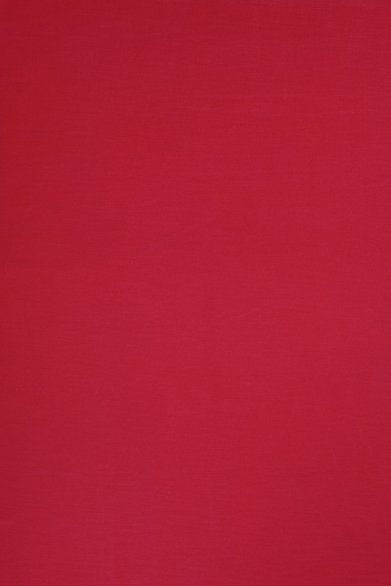 Plain in Plain Red Cotton