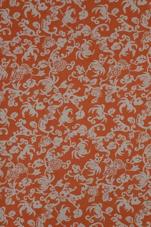 Silver Leaf in Orange 1