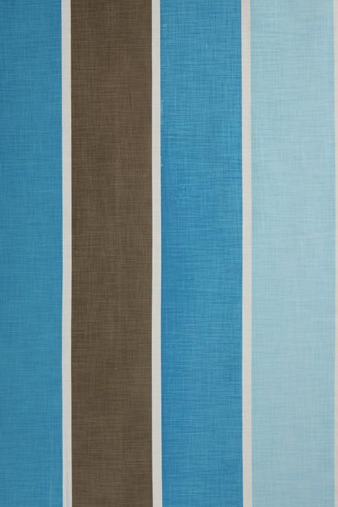 Suzani Stripe in Blue 1
