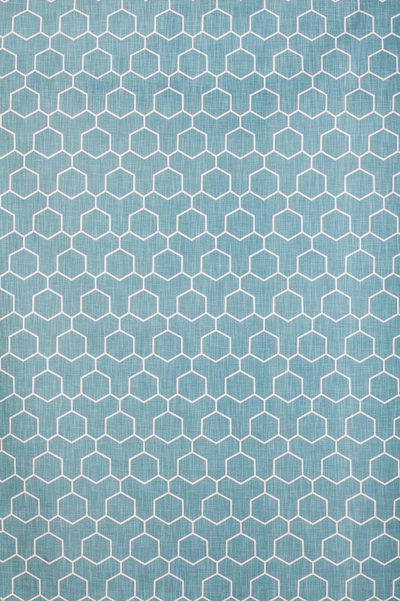 Honeycomb in Turquoise