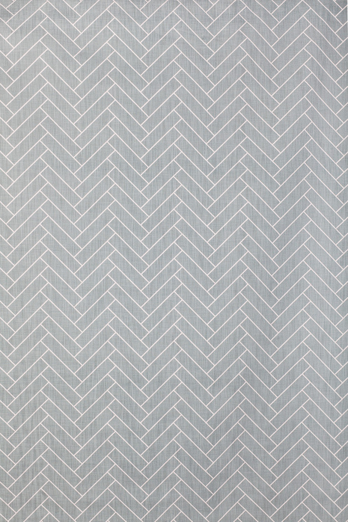 Herringbone in Medium Grey