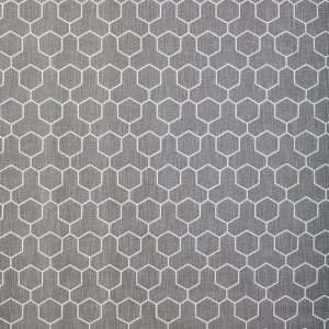 Honeycomb in Medium Grey