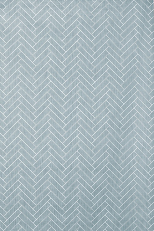 Herringbone in Aqua 1