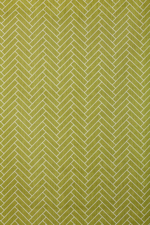 Herringbone in Chartreuse 1
