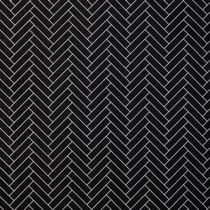 Herringbone in Black