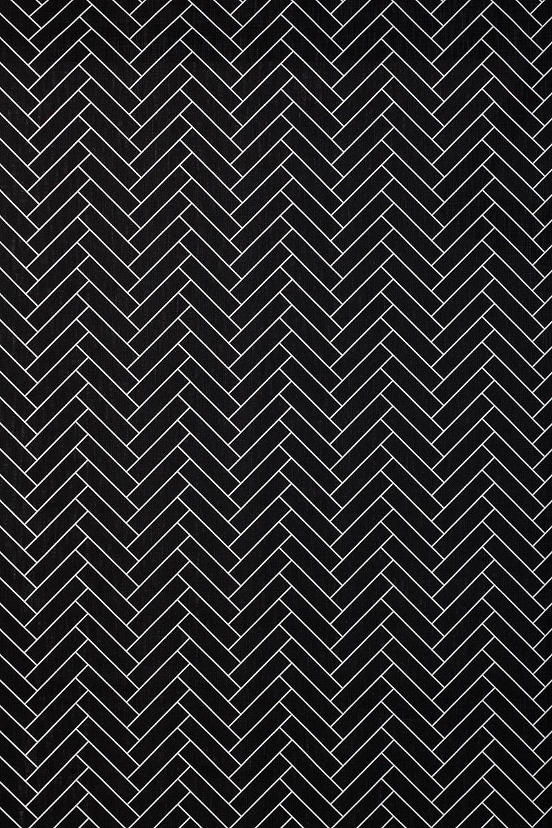 Herringbone in Black
