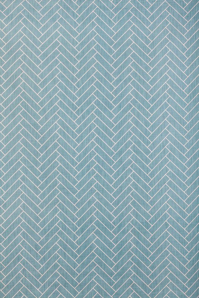 Herringbone in Turquoise