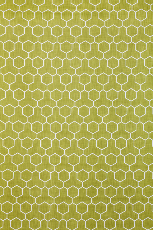 Honeycomb in Chartreuse 1