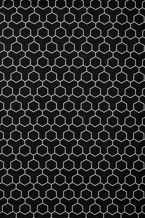 Honeycomb in Black 1