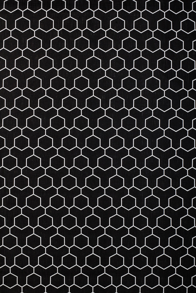 Honeycomb in Black