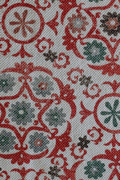 lula-fabrics-rug-suzani-coral-detail